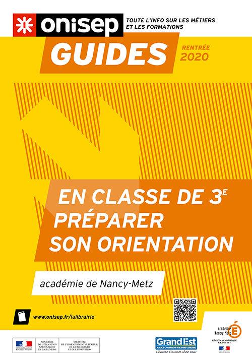Guide ONISEP_En classe de ° - Préparer son orientation